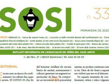 Les coses han de canviar:  ja podeu llegir el nou número del butlletí de la SOSI